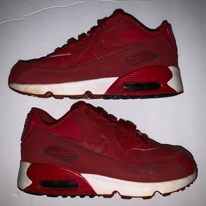 Nike Air Max 90 LTR RED Youth Size 1